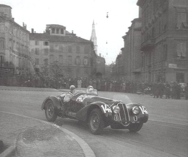 Alfa Romeo 8C 2900 Mille Miglia (1938)